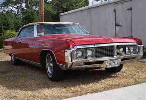 Buy used 1969 Buick Electra 225 Custom Convertible in