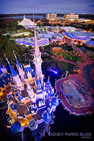 Bird's-Eye View of Cinderella Castle | Disney Parks Blog