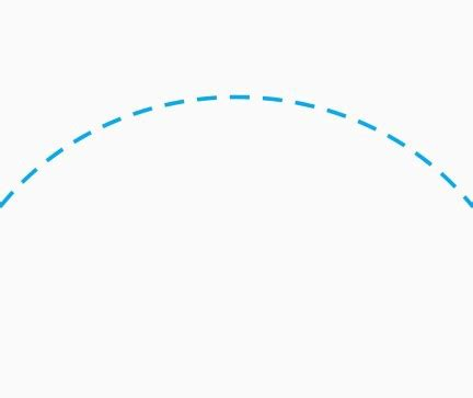 Drawing Curved Dashed Lines in Flutter - Meysam Mahfouzi