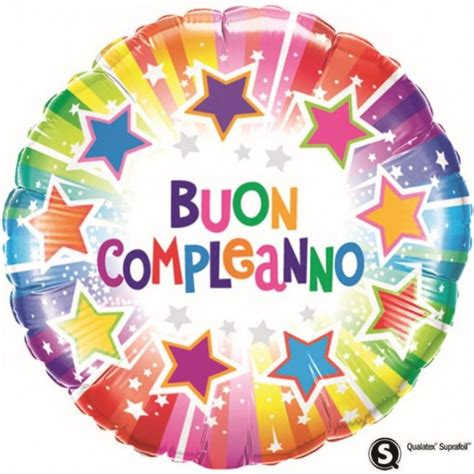 """Buon Compleanno Stelle (18"""")"""