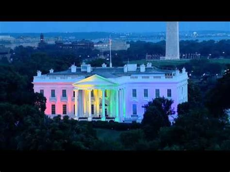 President Obama Says White House Looked Good in Rainbow