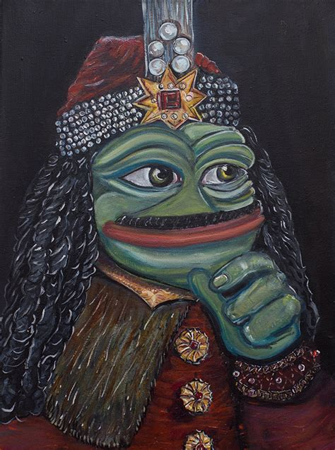 Russian Artist Turns Pepe The Frog Into Masterpiece Paintings