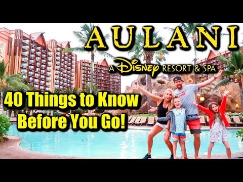Aulani, A Disney Resort & Spa in Hawaii-Oahu - YouTube