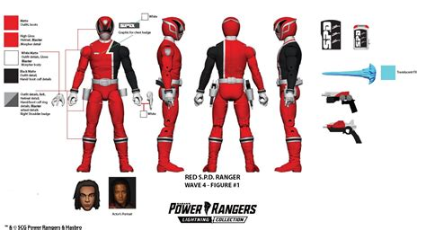 Lightning Collection Wave 4 Blueprints Released - Morphin