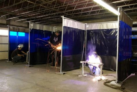Welding Booth Curtains for Sale: Custom Weld Safety Material