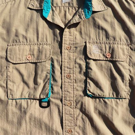 POST JUNK / 80's ORVIS USA製 ナイロン フィッシングシャツ [About L]