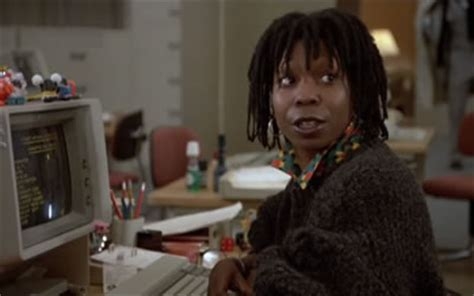 Jumpin' Jack Flash (1986) starring Whoopi Goldberg